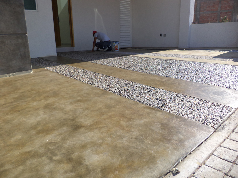 Concreto oxidado en queretaro - Cemento pulido para exterior ...